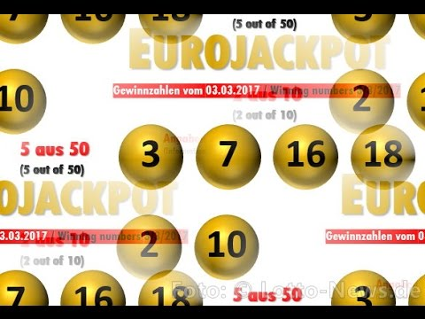 Eurojackpotgewinnzahlen