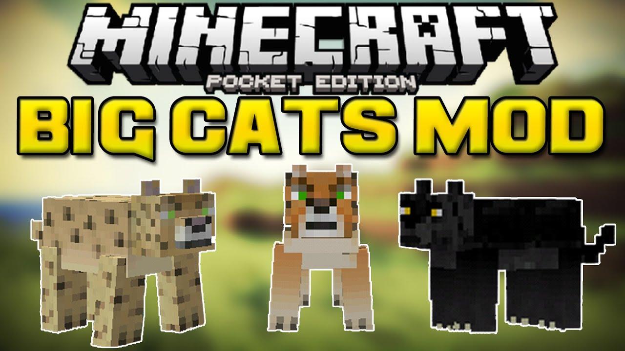 Майнкрафт скачать мод на кошек