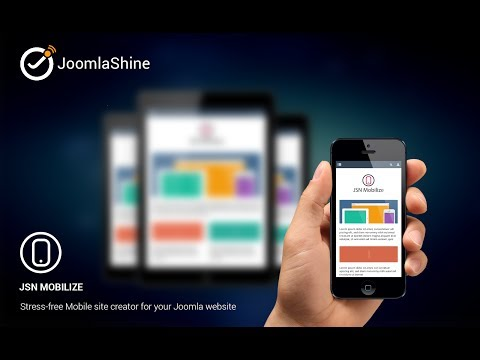JSN Mobilize Webinar - Make your Joomla mobile ready