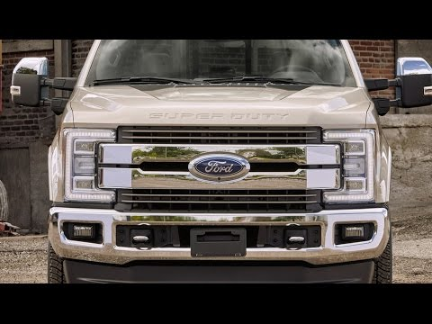Toyota Tundra Diesel Review - 2017 Ford Super Duty   King Ranch
