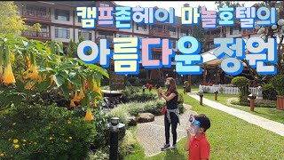 캠프존헤이 마놀 호텔의 아름다운 정원 / 마놀호텔 베이…