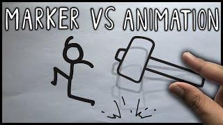 Animation Vs. Marker