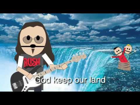 O Canada, by Geddy Lee and Alex Lifeson, featuring Terrance & Phillip