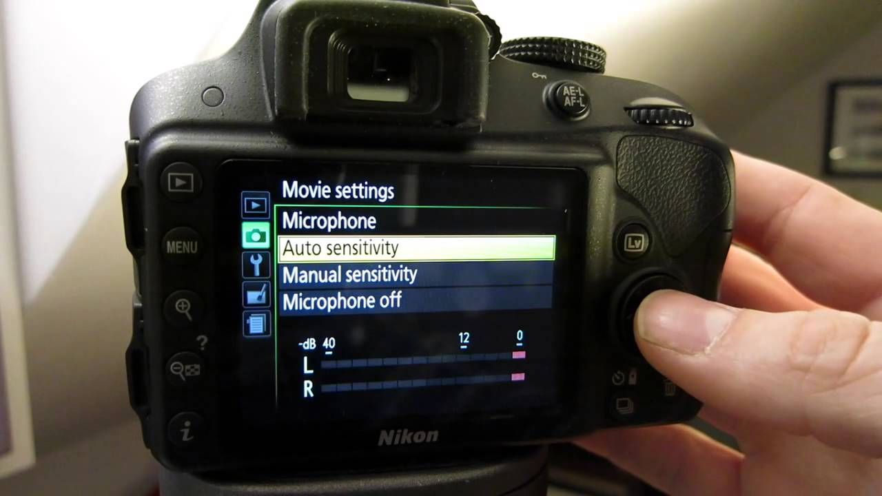 nikon d3300 how to get grainy pictures