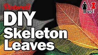 DIY Skeleton Leaves, CORINNE VS PIN #15