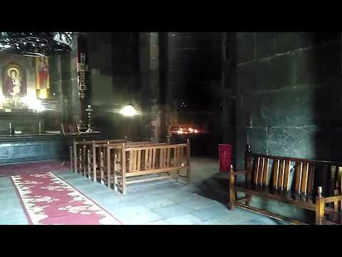 Храм Рипсиме внутри, май 2019   туризм в Армении