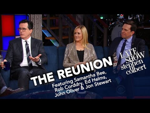 Thumbnail: The Reunion: Jon Stewart And The Correspondents (Part One)