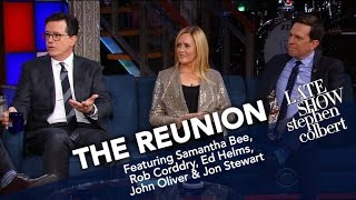 The Reunion Jon Stewart And The Correspondents Part One