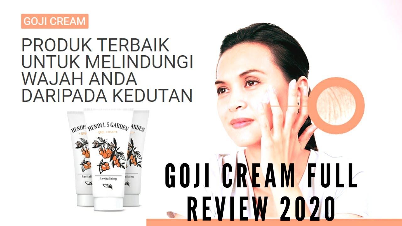 Goji Cream Full Review 2020,How to use,Deals,Safe or not???