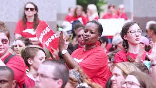 Thousands of educators march in Raleigh and demand respect thumbnail