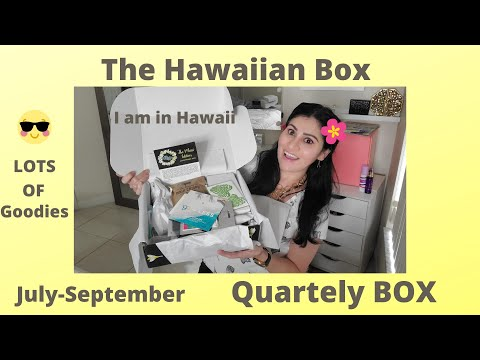 Hawaiian box - The Maui Edition July-September 2020