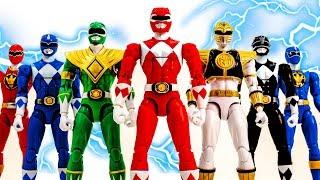 Marvel Toys Super Hero Squad | Mighty Morphin Power Rangers Vs Thanos's Monster Army #toymarvel