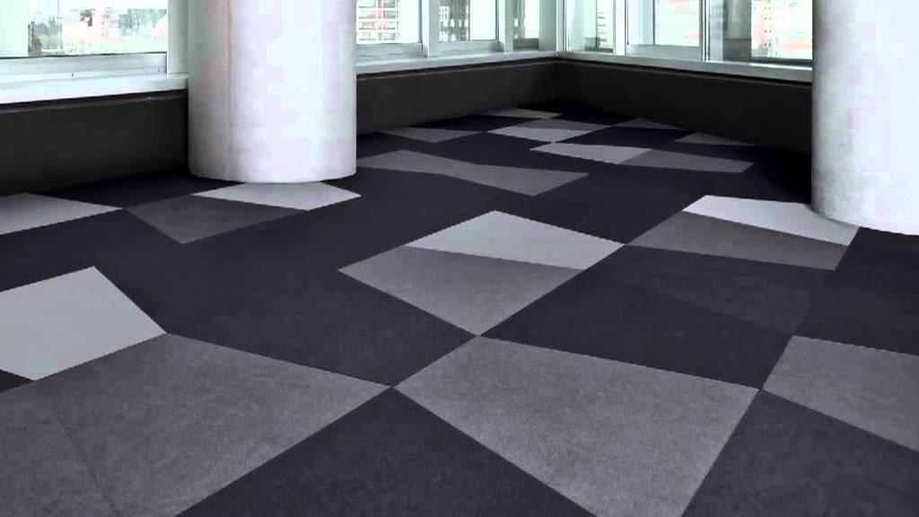 Teppichfliesen  SCALE Teppichfliesen von Vorwerk - der Boden als spielerisches ...