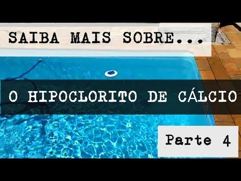 """Sobre o uso do """"cloro"""" HIPOCLORITO DE CÁLCIO no tratamento de piscinas.(4/4)"""