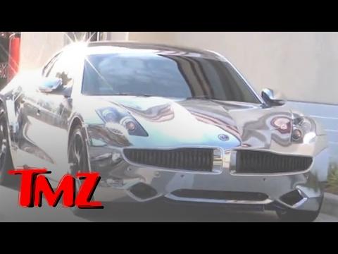 Justin Bieber's RIDICULOUSLY Shiny Car | TMZ