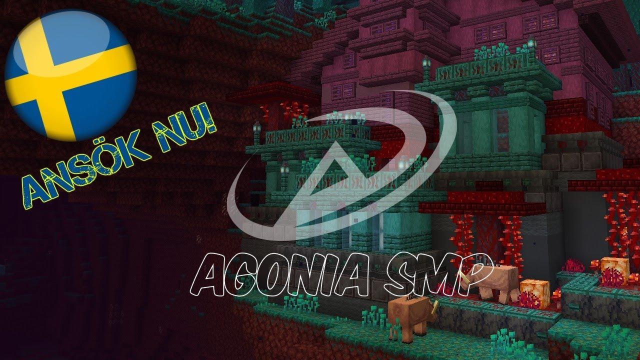 Svensk Survival Server 2020 | Minecraft 1.15/1.16 | Hur kommer jag igång? | Agonia SMP (Ansök nu!)