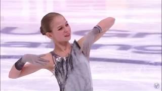 Александра Трусова КП Rostelecom cup 2019