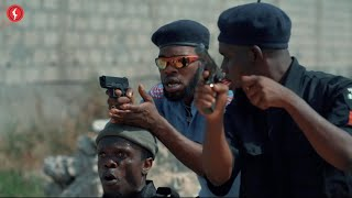 BRODASHAGGI, officer woos and his new Recruit in Big TROUBLE (Broda Shaggi Comedy)