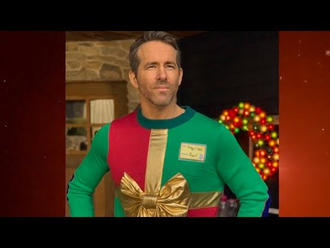 Mick Lee - Ryan Reynolds Wears Ugly Christmas Sweater to Raise Money for Sick Children