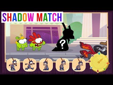 Shadow Match - Om Nom Stories: Risk Race