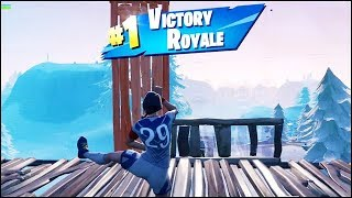 Fortnite Clinical Crosser Skin Gameplay (Solo Win Victory Royale) - Land at Pleasant Park