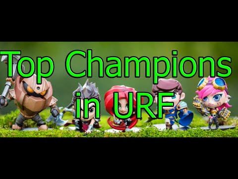 League of Legends - My Top 10 Champions in URF Part 1