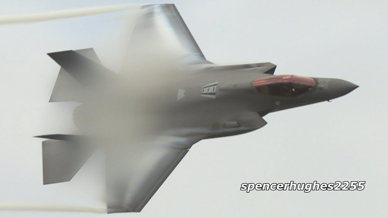 F-35A Lightning II Demo 2019 Melbourne Air Show