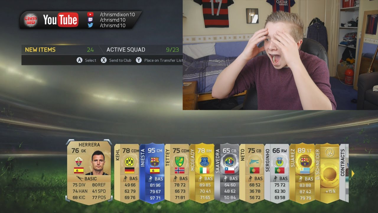 Insane 3 million coin fifa 15 toty pack opening youtube