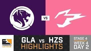 HIGHLIGHTS Los Angeles Gladiators vs. Hangzhou Spark   Stage 4   Week 4   Day 2   Overwatch League