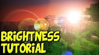 Minecraft 1.8 Tutorial: How to Increase Your Brightness - 10,000% (Change Gamma Settings)