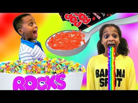 Pop Rocks Extreme CANDY Challenge Taste Test! SHASHA and SHILOH - Onyx Kids