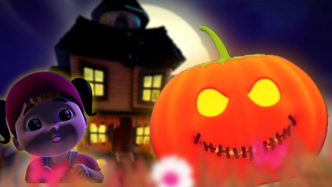 Jest Tam Straszny Dyni Halloween Pieśń Rymy Dla Dzieci Halloween Szczęśliwy There Is A Scary Pumpkin