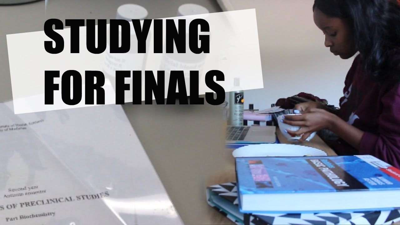 study exam final Making and using study guides-aids that you mix them up during your final review session(s) exam other study aids.