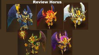 summoners war review horus