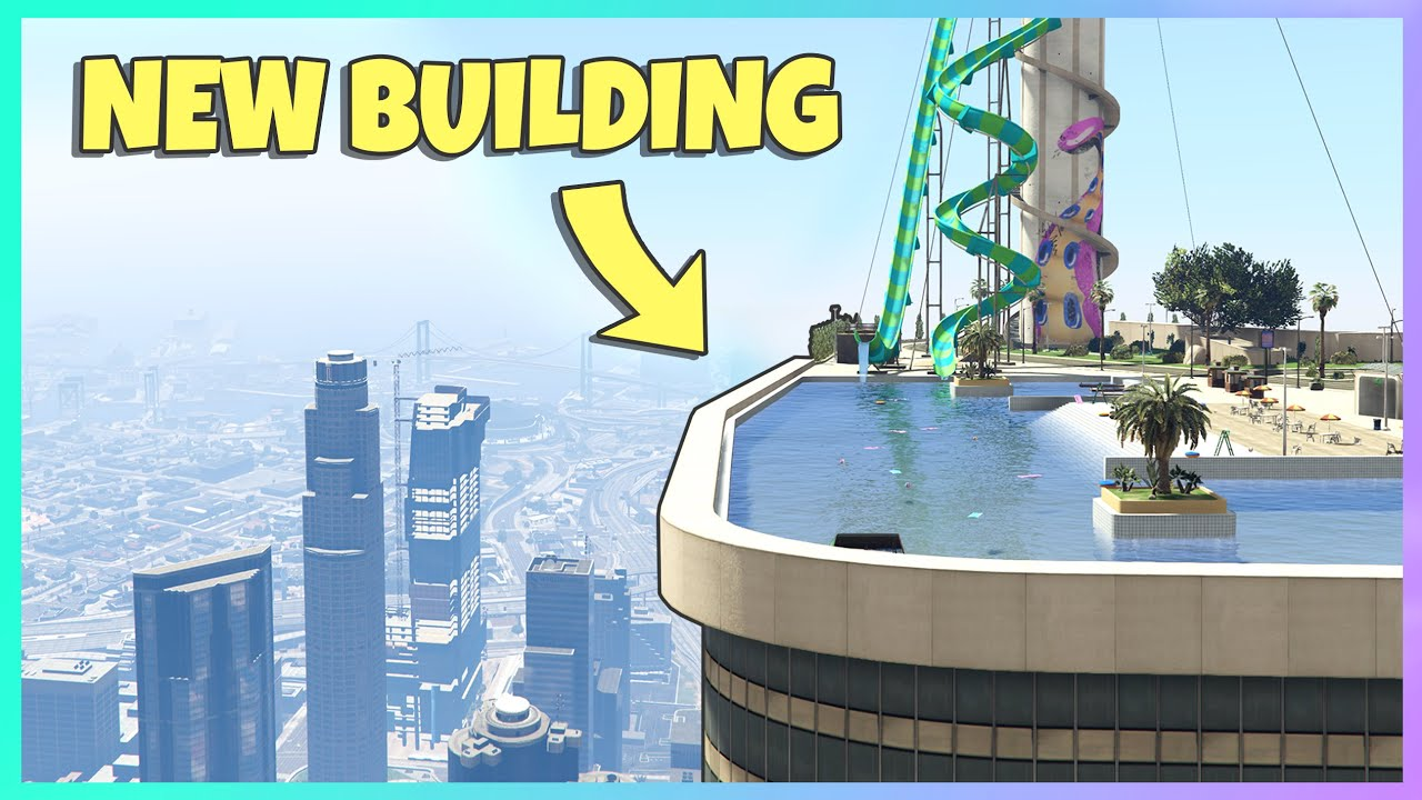 GTA 5   NEW TALLEST BUILDING in LOS SANTOS (my first mod)