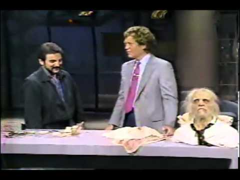 Late night with David Letterman special guest Tom Savini