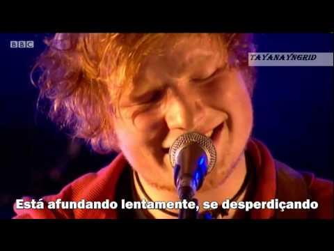 Ed Sheeran  The A Team [legendado/tradução BR]  LIVE (BBC Glastonbury 2011)