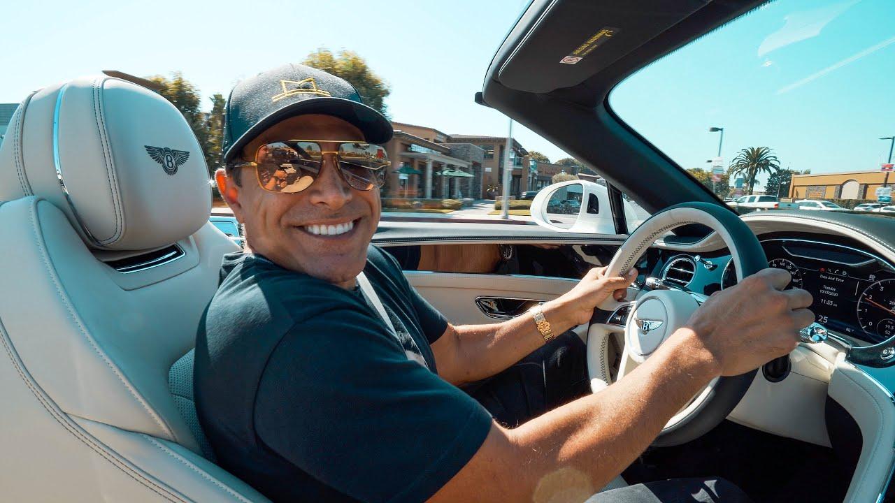 TEST DRIVING THE BENTLEY FLYING SPUR || Manny Khoshbin