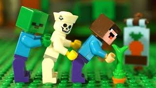 Майнкрафт Мультики Лего НУБик Новые Мультфильмы LEGO Minecraft - Видео для Детей