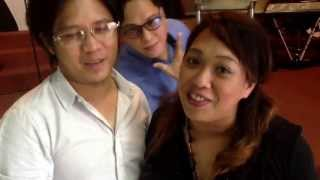 Ptra. Mhen and Ptr. Marlon bday greetings for Ptra. Milkee