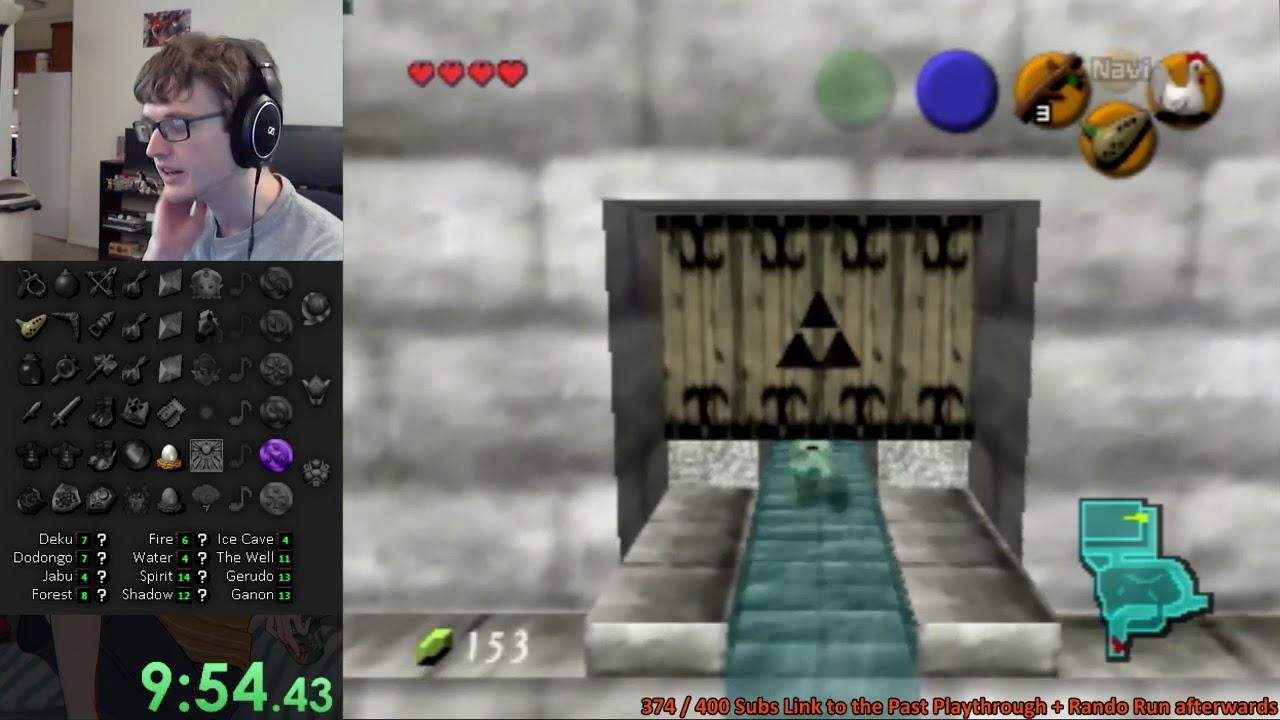 Zelda: OoT Randomizer Run w/ Commentary #3