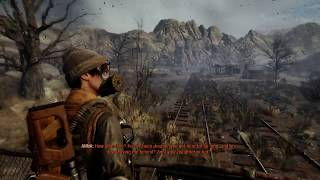 Metro Exodus - Yamantau: Miller Excited, Artyom Takes Rail Car To The Ark Bunker Sequence (2019)