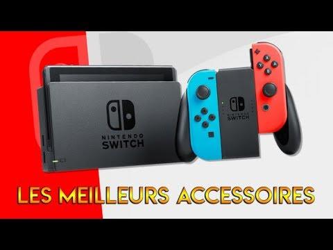 Présentation en vidéo des meilleurs accessoires de la Nintendo Switch !