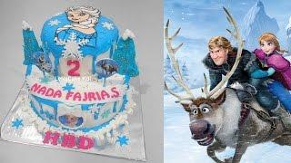 Frozen Elsa Cake - 2 Layers by LeNsCake Kdi