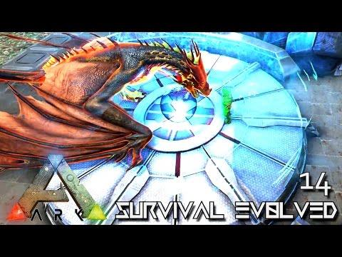 ARK: SURVIVAL EVOLVED - NEW TEK CLONING CHAMBER & ORIGIN TREX !!! E14 (MOD ETERNAL CRYSTAL ISLES)
