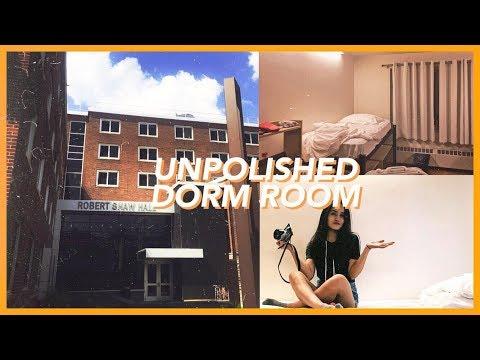 UNIVERSITY DORM TOUR (Syracuse NY Vlog Style)