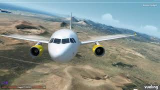 [P3D v.4.4] Lanzarote Landing Training  [FSLabs A320]
