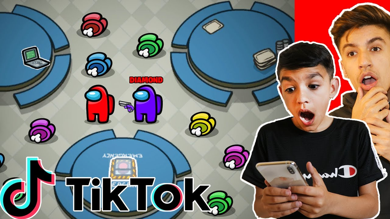 Brothers Test Among Us TikTok Hacks To Win With Imposter! (999 IQ)