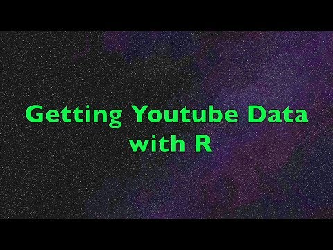 Getting YouTube Data With R | User Network And Sentiment Analysis From Comments