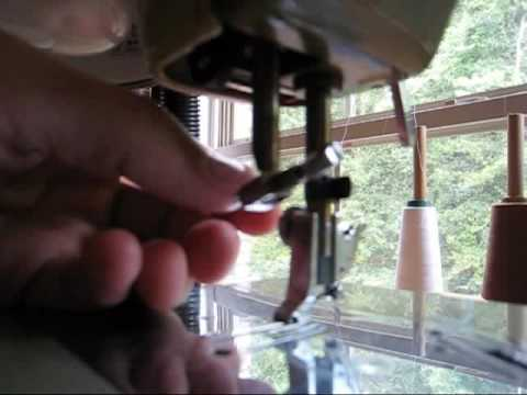 Wwwbriansews How To Attach A Needle Clamp YouTube Mesmerizing Brother Sewing Machine Needle Holder Fell Off